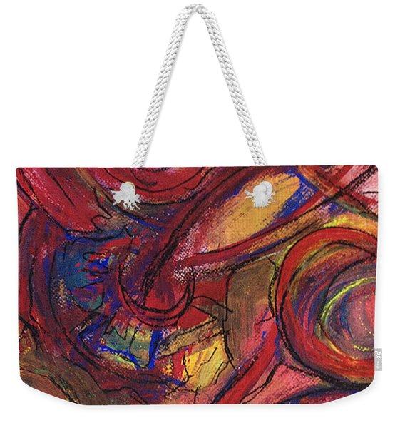 Pisces Symbalic Weekender Tote Bag
