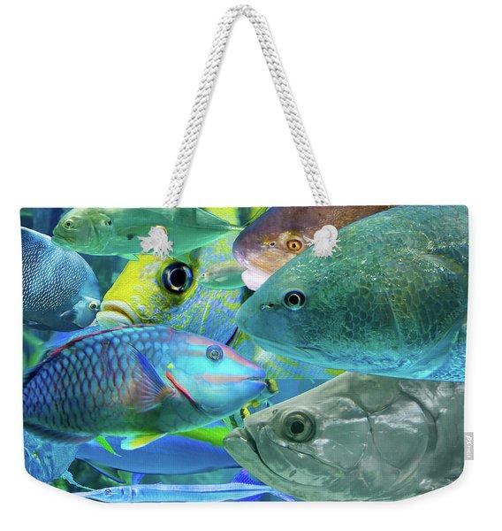 Piscine Plenitude Weekender Tote Bag