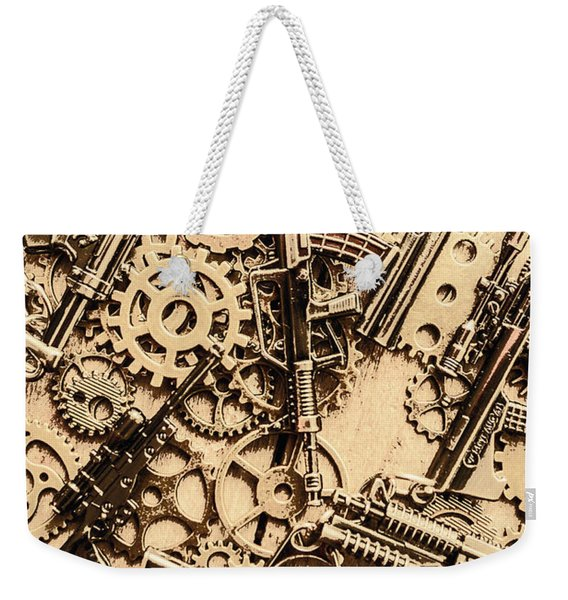 Pistol Parts And Rifle Pinions Weekender Tote Bag