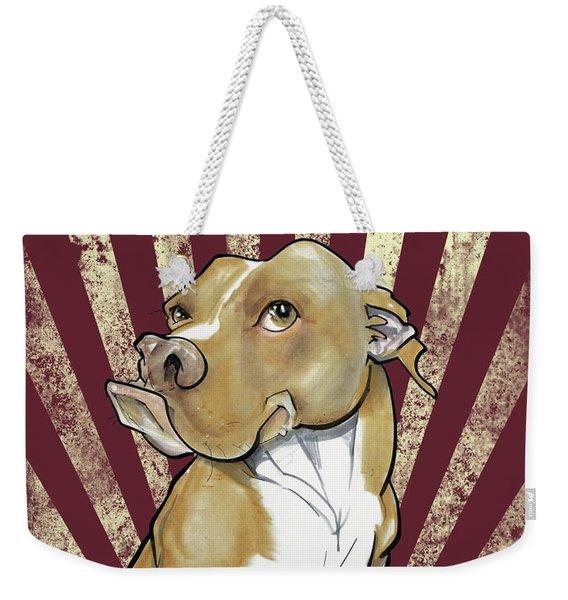 Pit Bull Revolution Weekender Tote Bag