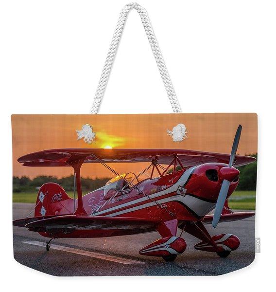 Pitts Sunset Weekender Tote Bag