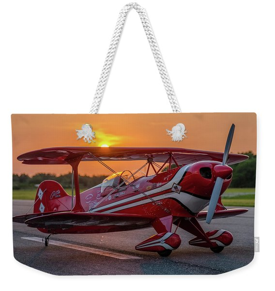 Pitts Sunset Weekender Tote Bag