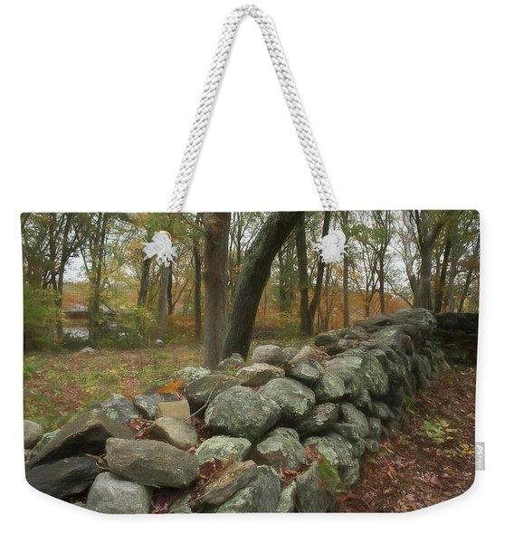 Weekender Tote Bag featuring the photograph Place For A Hero by Nancy De Flon