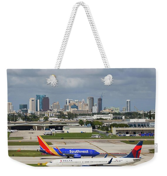 Planes By Fort Lauderdale Weekender Tote Bag