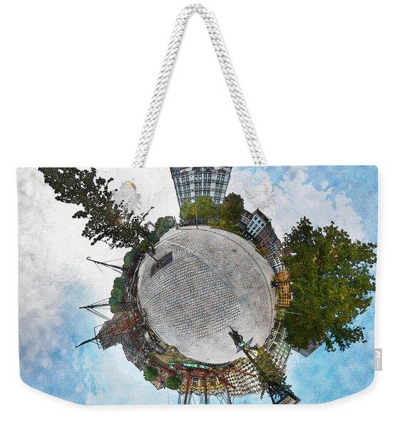 Planet Gelderseplein Rotterdam Weekender Tote Bag