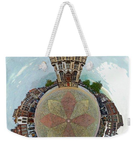 Planet Gouda Weekender Tote Bag