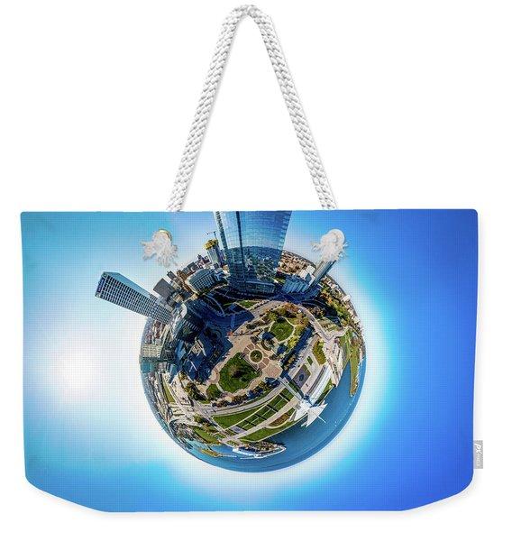 Planet Milwaukee Weekender Tote Bag