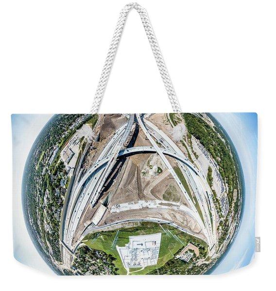 Planet Under Construction Weekender Tote Bag