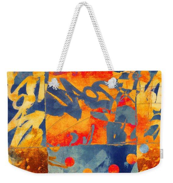 Planetary Celebration Weekender Tote Bag