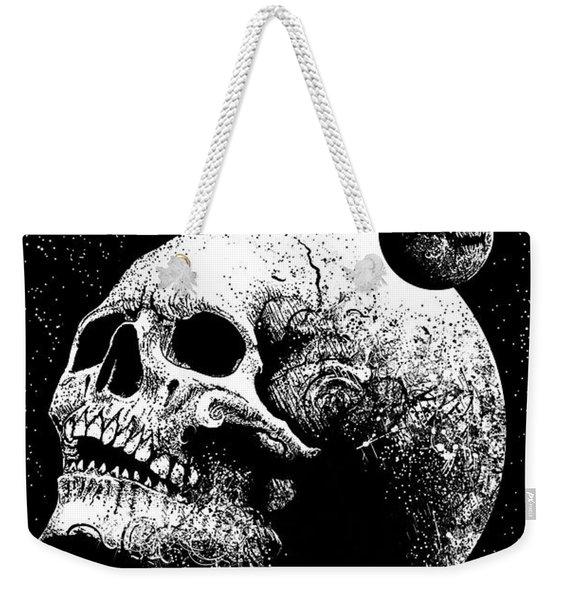 Planetary Decay Weekender Tote Bag