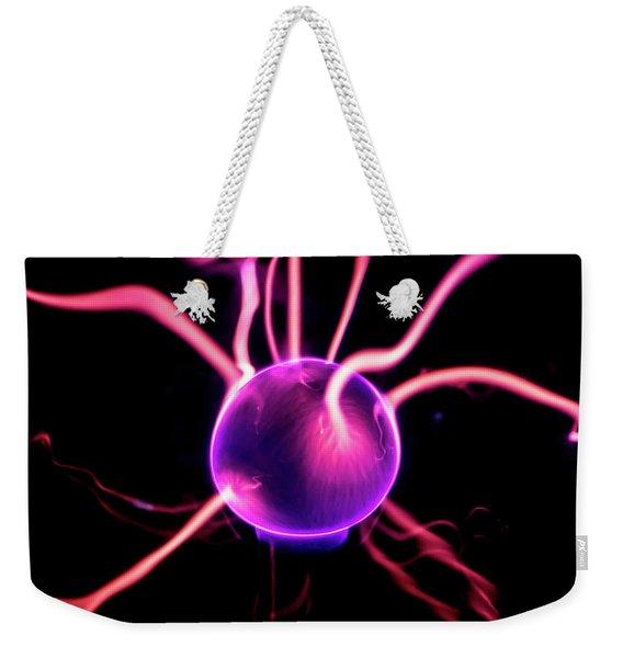 Plasma Blast Weekender Tote Bag