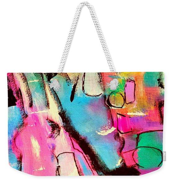 Play It Weekender Tote Bag