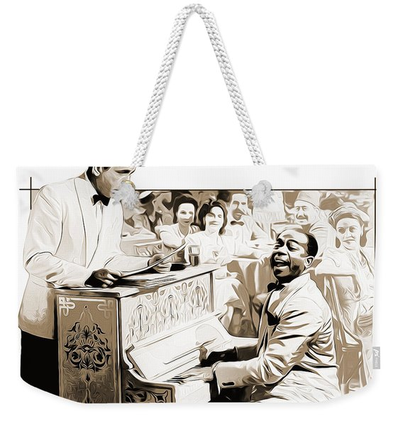 Play It Sam Weekender Tote Bag