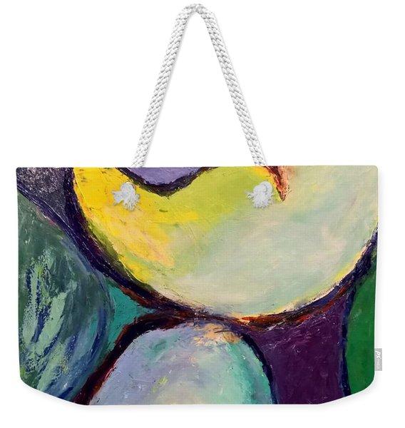 Play Of Light Weekender Tote Bag