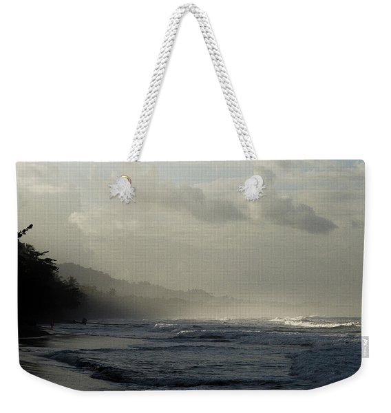 Playa Negra Beach At Sunset In Costa Rica Weekender Tote Bag