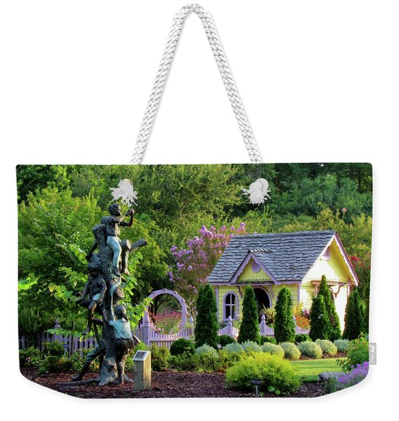 Playhouse In The Garden Weekender Tote Bag