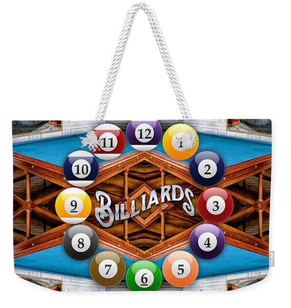 Playing Billiards With The Queen Versailles Palace Paris Weekender Tote Bag
