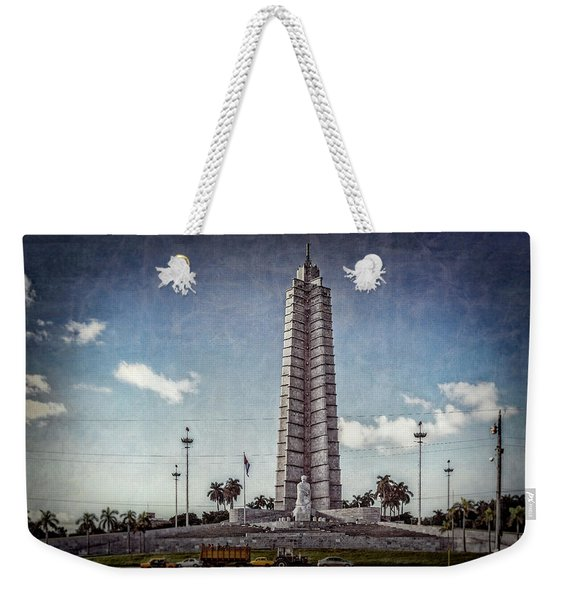 Plaza De La Revolucion Weekender Tote Bag