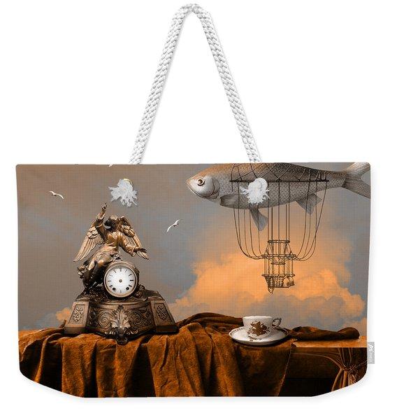 Pleasant Afternoon Weekender Tote Bag
