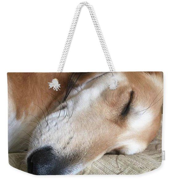 Please Be Quiet. Saluki Weekender Tote Bag