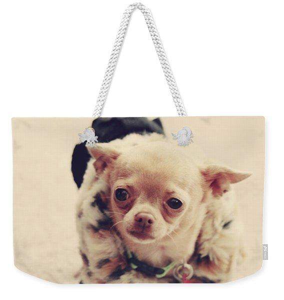 Please Meet Zoe Weekender Tote Bag