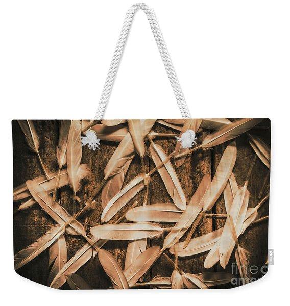 Plight Of Freedom Weekender Tote Bag