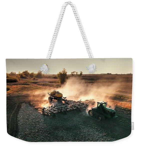 Plow The Fields And Scatter  Weekender Tote Bag