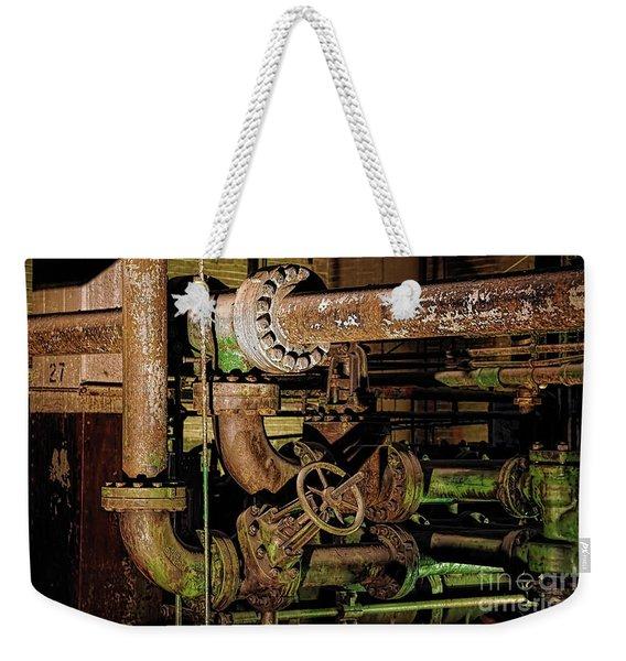 Plumbing Weekender Tote Bag
