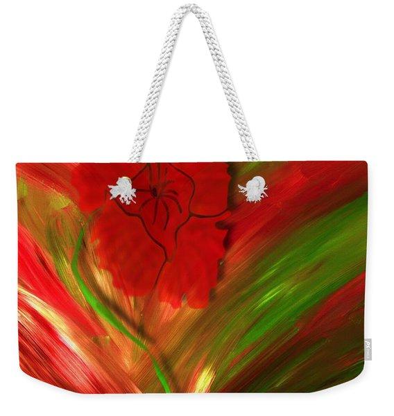 Plume Of Remembrance Weekender Tote Bag