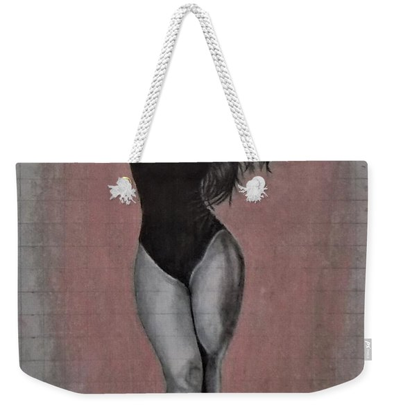 Plus Model Weekender Tote Bag