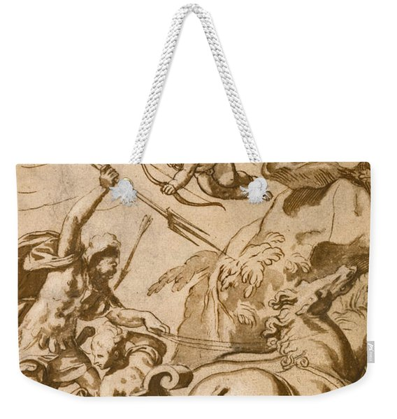 Pluto Abducting Persephone Weekender Tote Bag