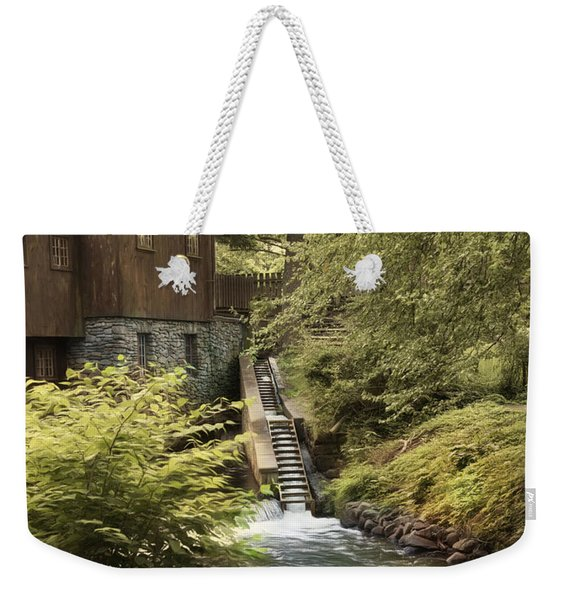 Plymouth Fish Ladder Weekender Tote Bag