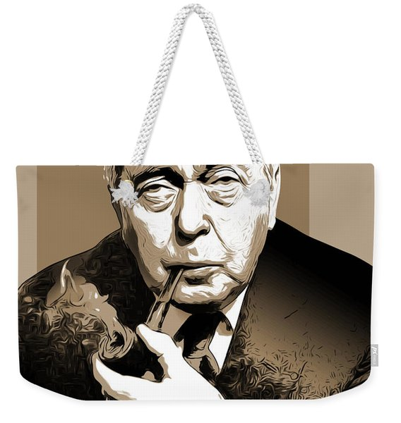 Pm Harold Wilson Weekender Tote Bag
