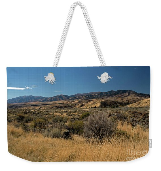 Pocatello Area Of South Idaho Weekender Tote Bag