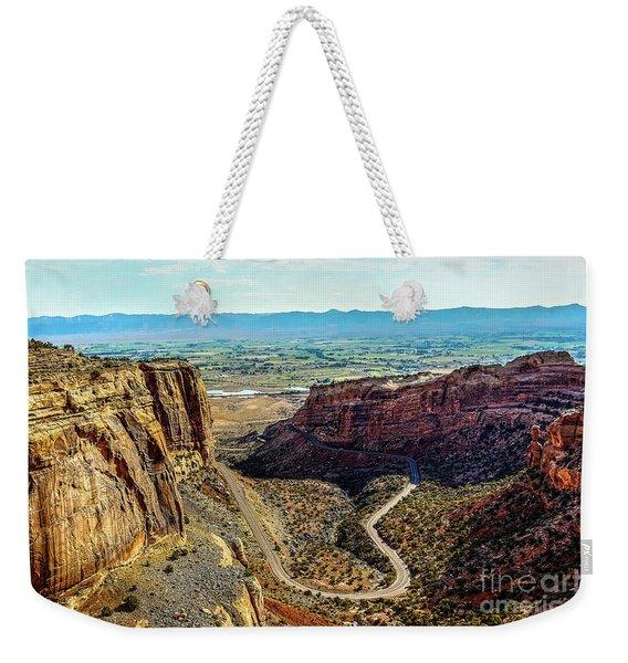 Pocket Size Grand Canyon Weekender Tote Bag