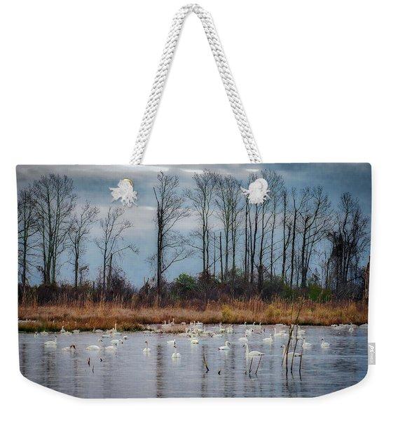 Pocosin Lakes Nwr Weekender Tote Bag