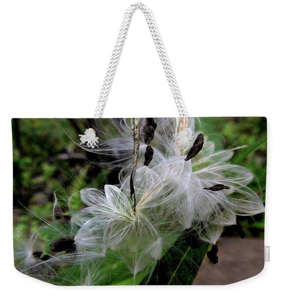 Pods Wide Open Weekender Tote Bag