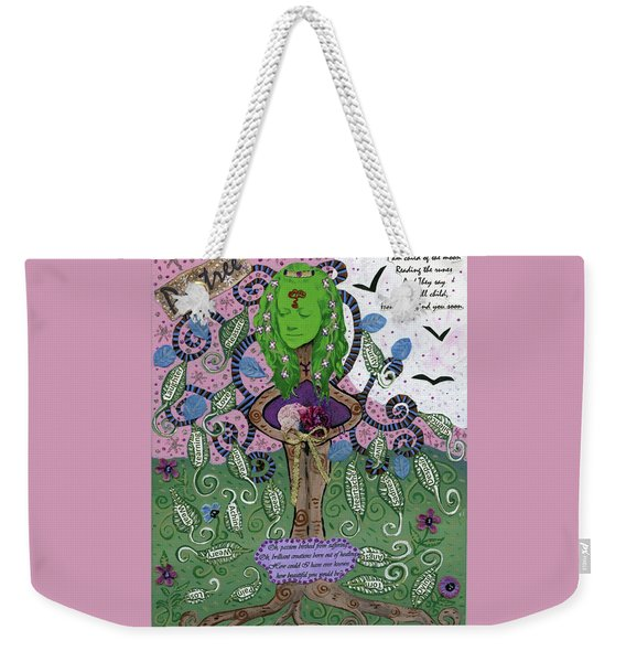 Poetree Weekender Tote Bag