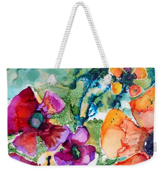 Poetry Of Petals Weekender Tote Bag