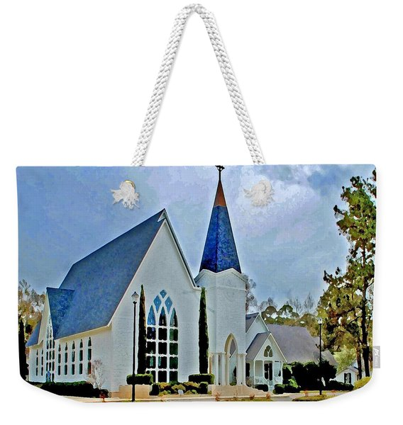 Point Clear Alabama St. Francis Church Weekender Tote Bag