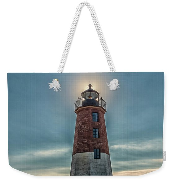 Point Judith Light Narragansett Rhode Island Weekender Tote Bag
