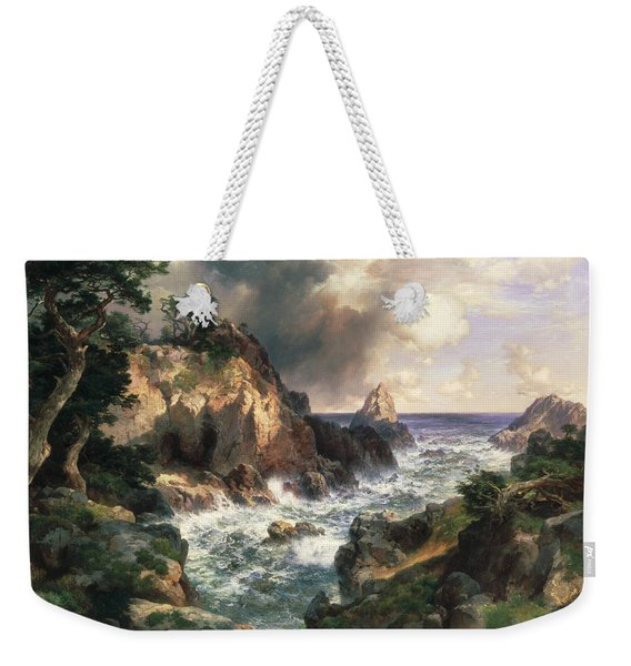 Point Lobos Monterey California Weekender Tote Bag