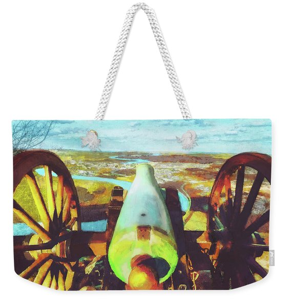 Point Park Cannon Weekender Tote Bag