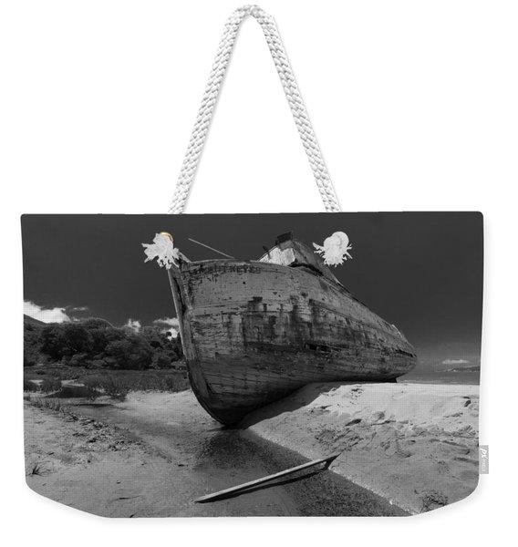 Point Reyes Boat Weekender Tote Bag
