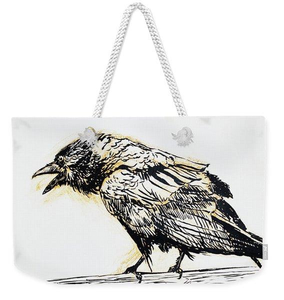 Point Reyes Raven Weekender Tote Bag