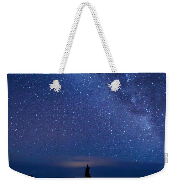 Pointing To The Heavens Weekender Tote Bag