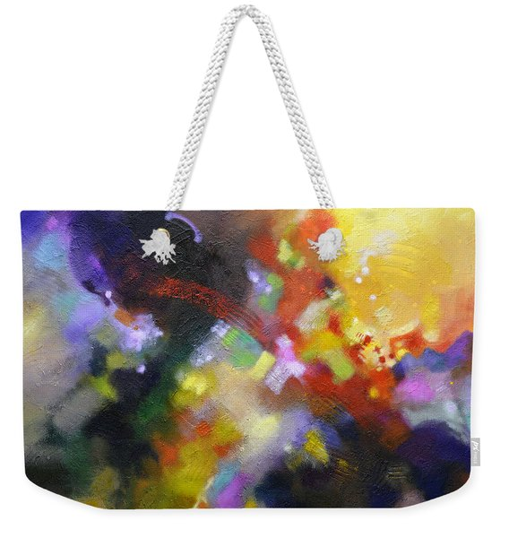 Points Of Light Weekender Tote Bag