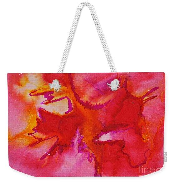 Poisonous Beauty Weekender Tote Bag