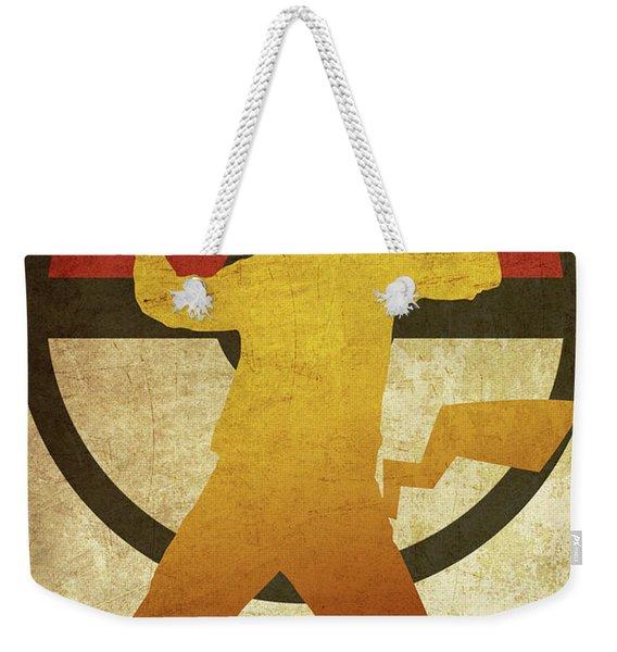 Pokeman Print 3 Weekender Tote Bag