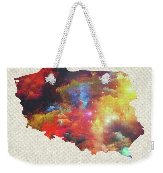 Poland Watercolor Map Weekender Tote Bag